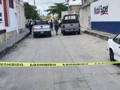 Eran marinos dos ejecutados en Cancún