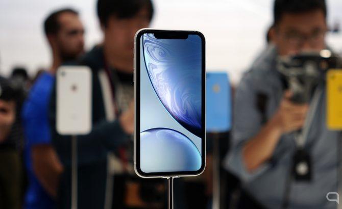 La razón por la que el iPhone XR tiene marcos más gruesos que el iPhone XS
