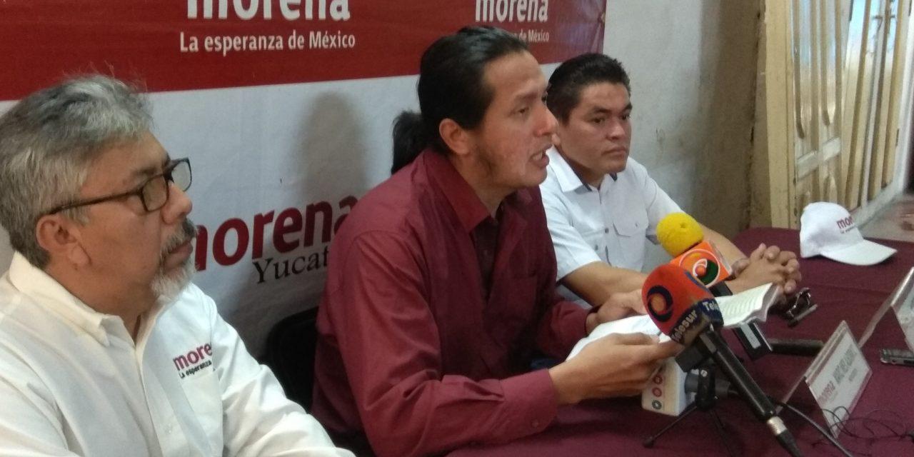 Reclama Morena pendientes y rezagos de Zapata Bello