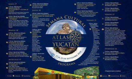 Presentarán próximo lunes Atlas Histórico y Cultural de Yucatán