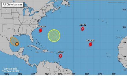 Sin riesgo para Quintana Roo por 'Isaac'