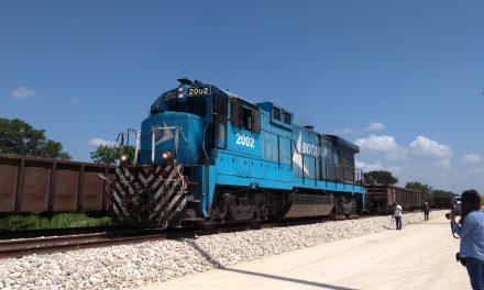 Robos en vías y bienes del ferrocarril Umán-Coatzacoalcos