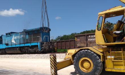 Confirmado: A fines de 2018 estará lista la vía férrea Poxilá-Hunucmá