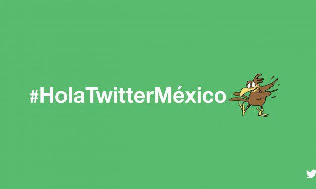 Twitter lanza cuenta oficial de México; un hashtag por día para celebrarlo