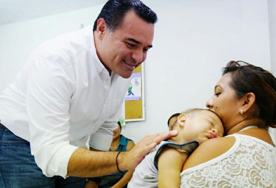 Fija prioridad Gobierno de Mérida en salud y bienestar