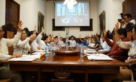 Cabildo Meridano aprobó por unanimidad Organigrama de la Administración Pública Municipal 2018-2021