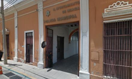 Muere en celda de la Policía Municipal de Mérida