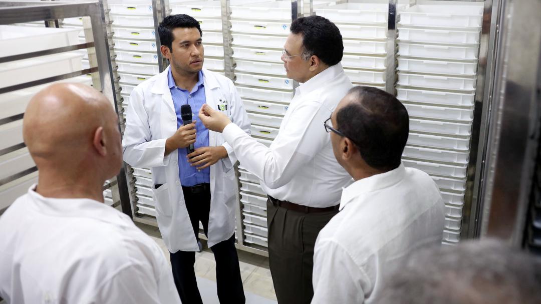 Inauguran en Yucatán el Laboratorio de Control Biológico contra el mosquito Aedes Aegypti