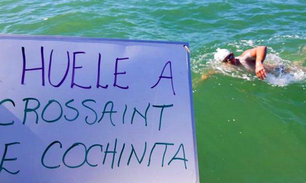 Carlos Franco, primer yucateco en cruzar a nado el Canal de la Mancha (video)