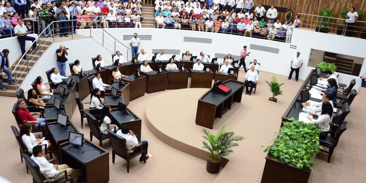 Vila rendirá compromiso en Teatro Peón Contreras, no en Congreso