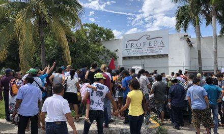 Exigen justicia en Homún y delegado de Profepa se 'atrinchera'