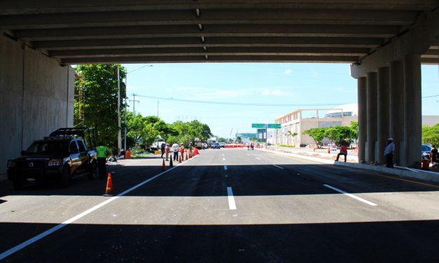¡Aguas! Lunes cierran parte del puente de salida a Progreso y ¡será un laberinto!
