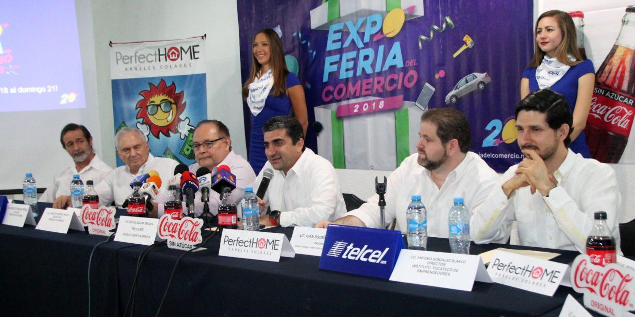 Expoferia del Comercio Mérida celebra sus 20 años