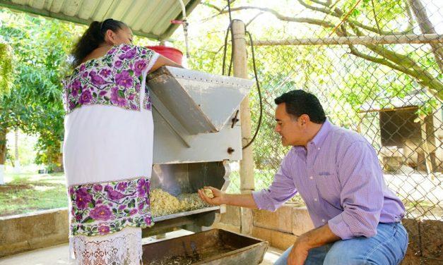 Nuevos apoyos para mujeres de comisarías de Mérida