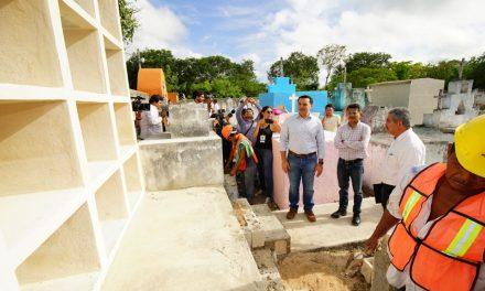Construirán osarios para cementerios de 22 comisarías de Mérida