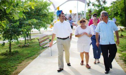 Construye Mérida nuevas áreas de esparcimiento para 'tejido social'