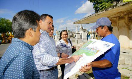 Al rescate y preservación de mausoleos en Cementerio General de Mérida