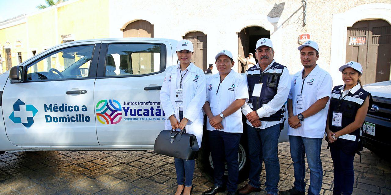 'Médico a Domicilio' va a los municipios