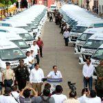 Entrega Mauricio Vila primeros 47 vehículos de traslado médico para personas de escasos recursos