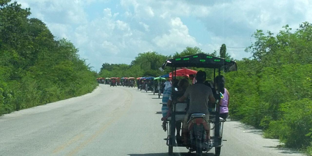De última hora realizan inspección judicial a mega granja en Homún