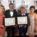 """Los """"Guty"""" Espadas ingresan al Salón de la Fama en Los Angeles, California"""