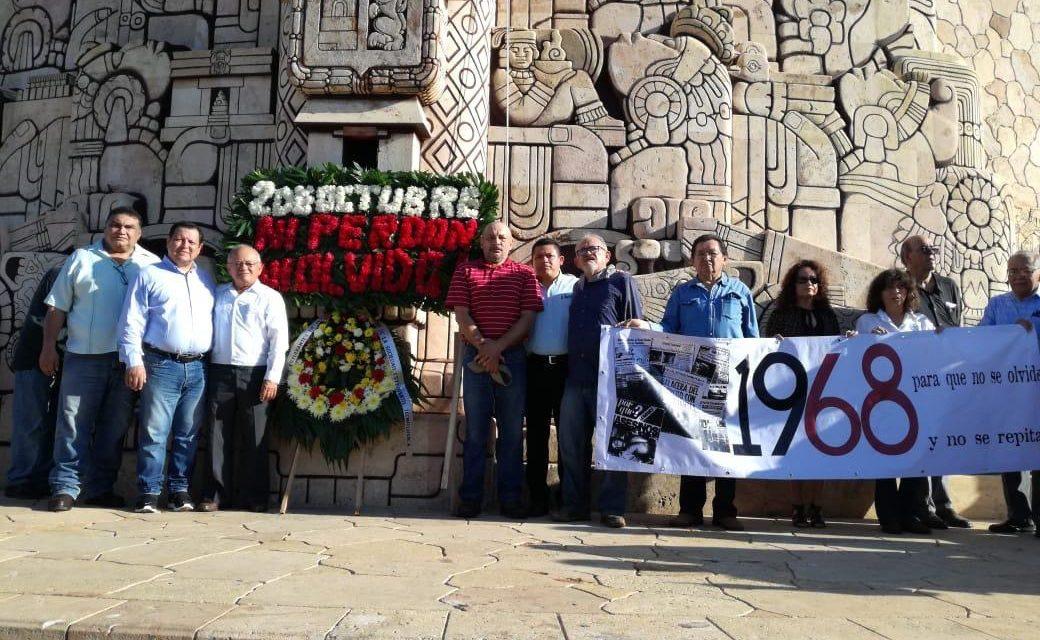 Represión del 68, herida abierta y crimen de Estado: intelectuales