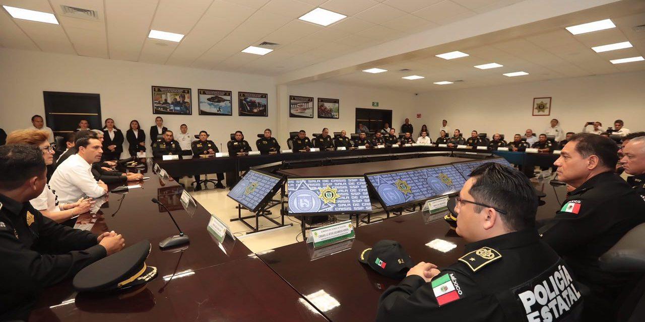 Reforzamiento de los niveles de seguridad en Yucatán, anuncia Mauricio Vila