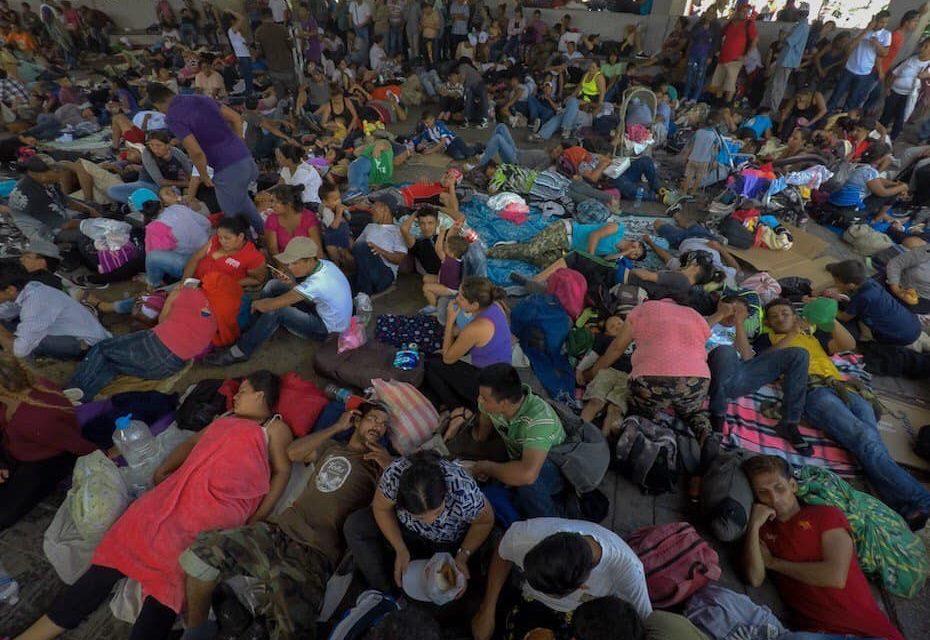 No es broma: diputados mexicanos 'escoltarán' a Caravana Migrante hasta EE UU (videos)