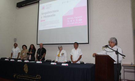 Foro Internacional de Historiay Crítica de la Arquitectura Moderna, en Mérida