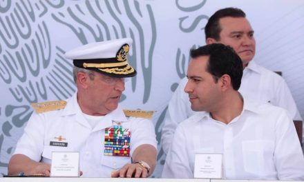 """Mauricio Vila participa en inauguración de """"Ciudad Militar"""" en Cancún, Quintana Roo"""