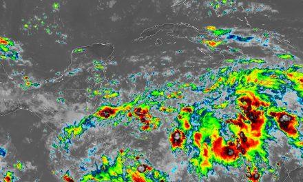 Más lluvias por zona de inestabilidad en Península de Yucatán