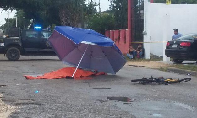 Tractocamión aplasta a ciclista al sur de Mérida
