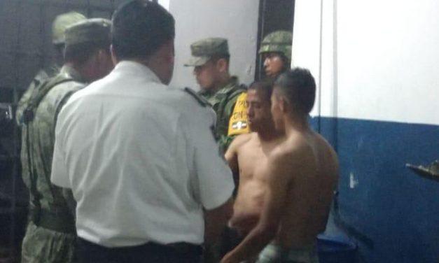 Arrestados en Cancún efectivos de Policía Militar por alterar el orden