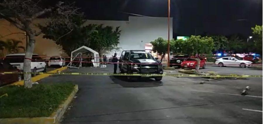 Ataque en centro de Cancún: un muerto y cuatro lesionados