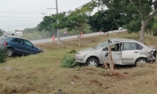 Parranda terminada en accidente, con hospitalizado
