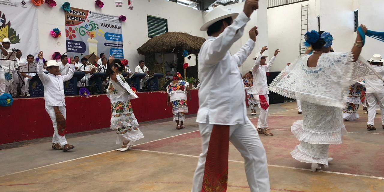 Llega Festival Cultural de Otoño a Cereso de Mérida