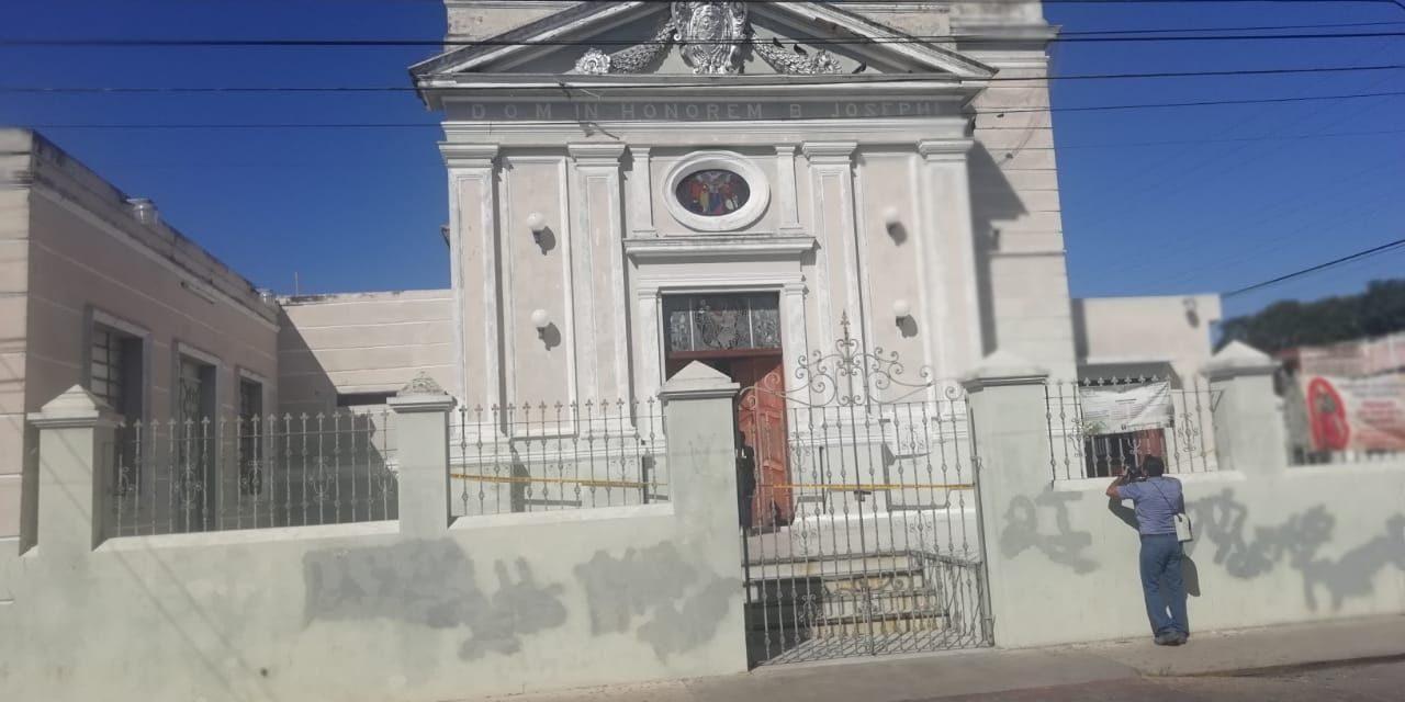 Ladrones se llevan limosnas de iglesia San José de la Montaña