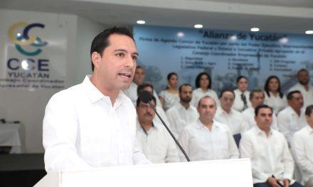 Alianza por Yucatán, agenda común de nueve acuerdos fundamentales