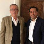 Mauricio Vila Dosal se reunió con Carlos Urzúa, próximo secretario de Hacienda Federal