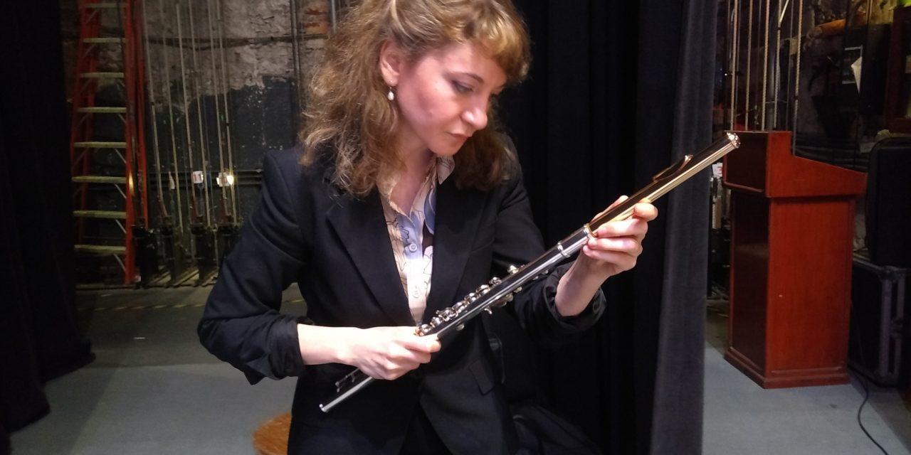 Buscará Mimi Stillman cautivar con su flauta de plata al público yucateco