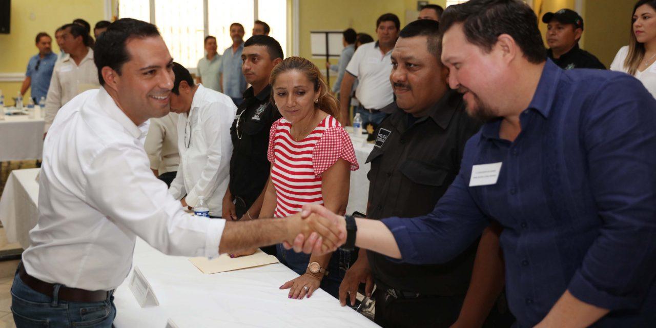 Mauricio Vila se reúne con 34 alcaldes de la zona oriente de Yucatán