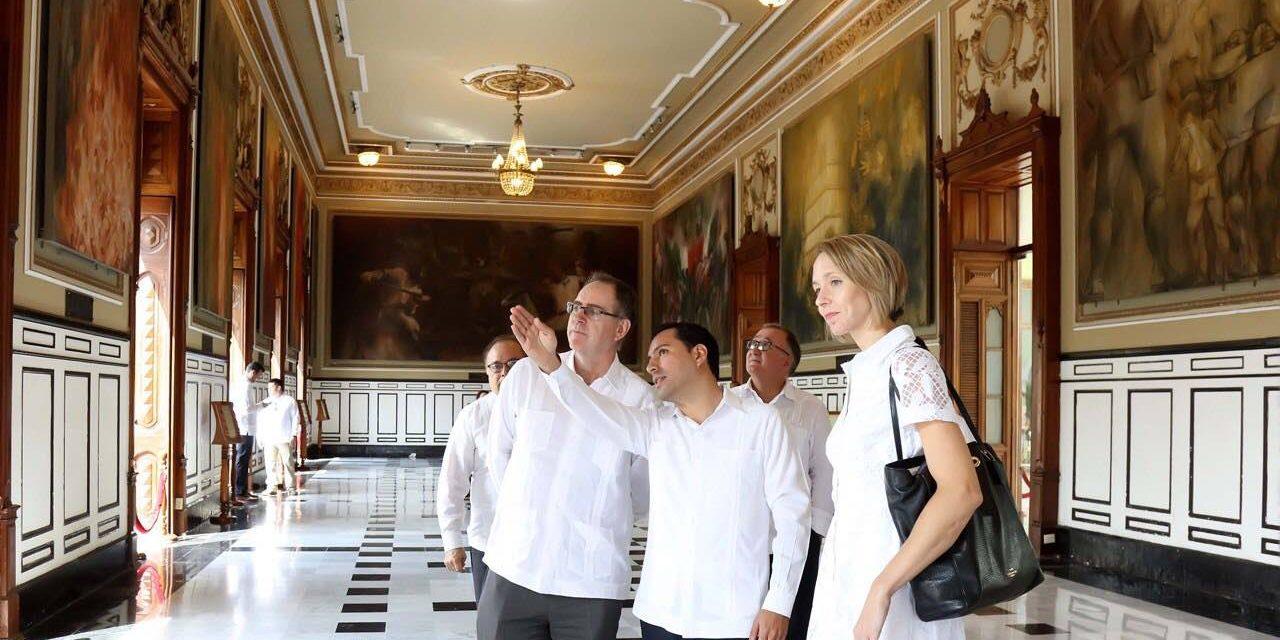 Yucatán afianza relaciones de colaboración con Estados Unidos