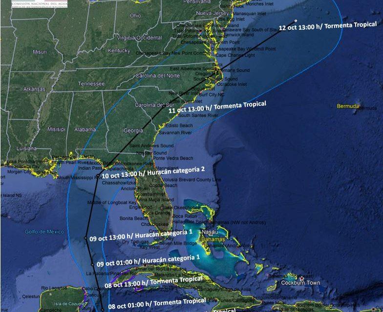 """Tormenta Tropical """"Michael"""" alcanzaría rango de huracán este lunes"""