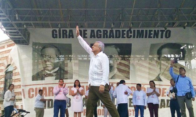 Desde hoy, la historia de México se escribe con la izquierda: AMLO, presidente