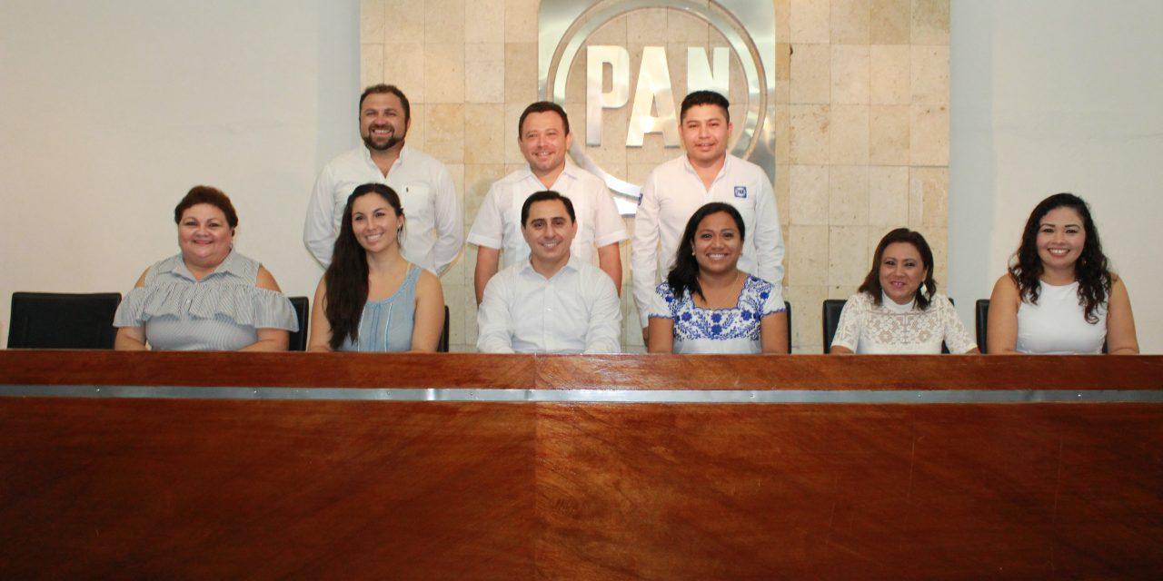 Asis Cano Cetina, nuevo presidente de PAN Yucatán