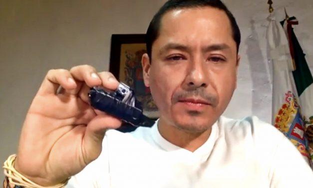 PRI le dejó 'regalito' al Alcalde panista de Campeche: cámaras para espiarlo (video)