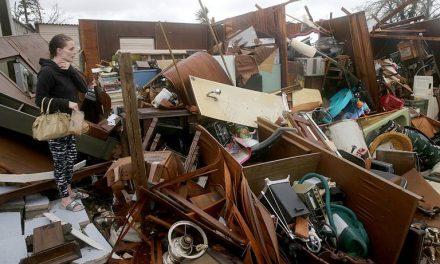 'Michael, aterrador' y nadie quiere ver la devastación… un dron la muestra (video)