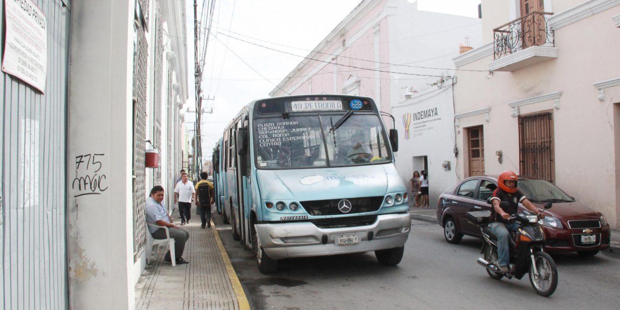 Con plan conjunto atenderían transporte público en Mérida