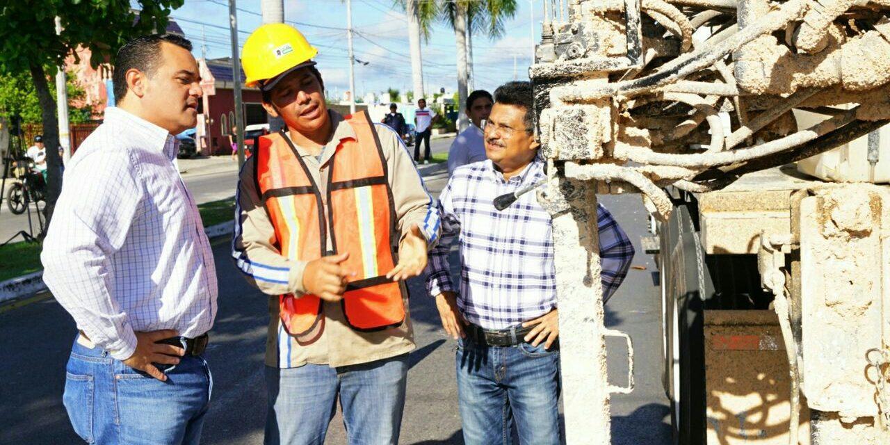 Reconocimiento a equipo de Departamento Drenaje Oriente Mérida
