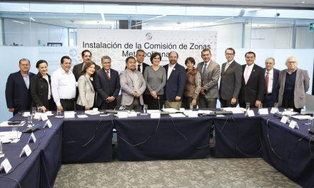 Participa Mérida en instalación de Comisión de Zonas Metropolitanas